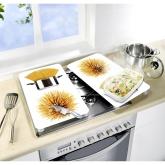 Plaque de cuisine couvre gazinière en Verre Spaghetti 2 unités