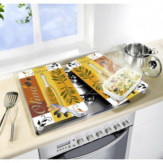 Tablas vidrio cocinas Oliva 2p