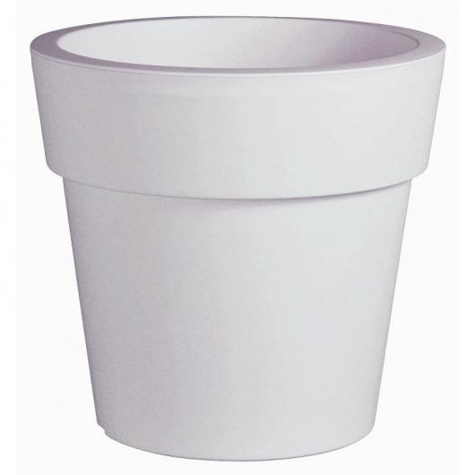 Fioriera classica bianca 55 cm