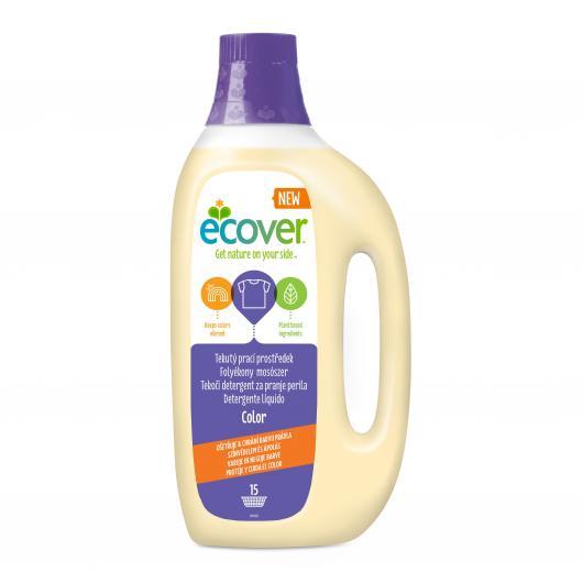 Lessive Liquide Couleur Ecover, 1.5 L