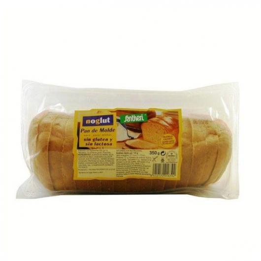Pain de Mie Sans Gluten et Sans Lactose Noglut Santiveri, 350 g