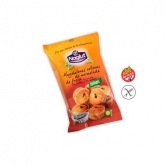 Muffin ripieni di marmellata alla fragola senza glutine Noglut Santiveri, 195 g