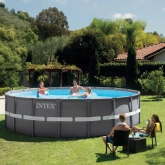 Piscina Ultra 549 x 132 cm com depuradora Intex