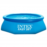 Piscina hexagonal Easy Set 244 x 76 cm com depuradora Intex