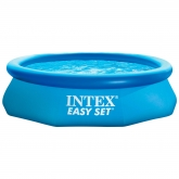 Piscina hexagonal Easy Set 305 x 76 cm com depuradora Intex