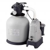 Combo depuradora arena e cloração salina 56,800 L Intex