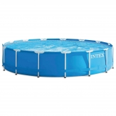 Piscina Easy Set 457 x 84 cm com depuradora Intex