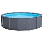 Conjunto completo piscina Graphite 478 x 124 cm Intex