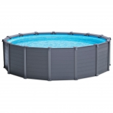 Set completo piscina Graphite 478 x 124 cm Intex