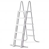 Escalera 122-132 cm altura Intex