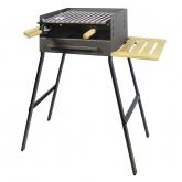 Barbecue a carbone con vassoio di legno Imex el Zorro