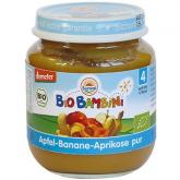 Pot pour Bébé, Banane et Abricot Sunval 125 g