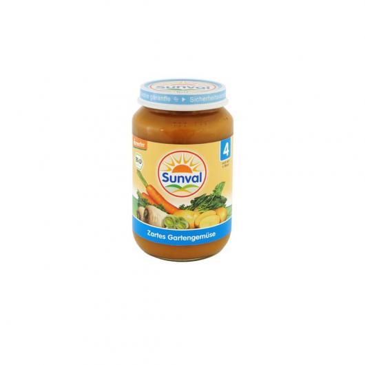 Potito de Verduras de la Huerta Sunval, 190 g