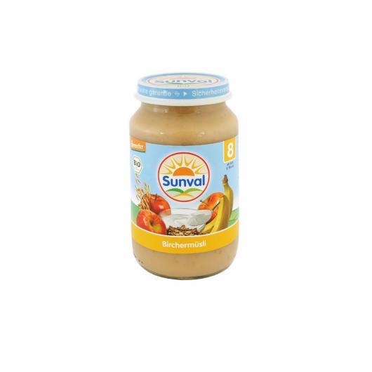 Omogenizzato di Mela, Banana, Yogurt e cereali Sunval, 190 g