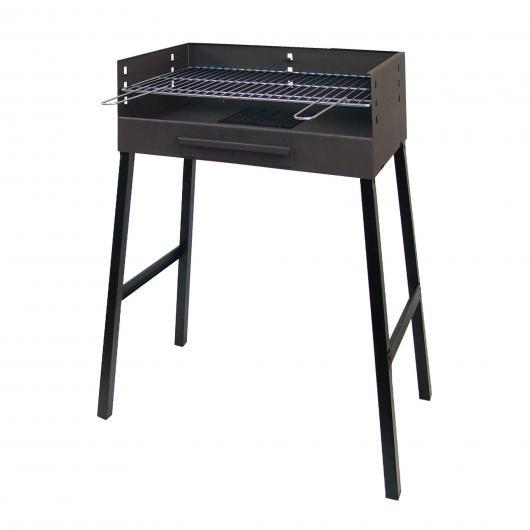Grand barbecue à charbon