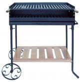 Barbecue con ruote