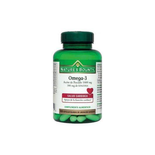 Omega 3 oli di pesce  1000 mg Nature's Bounty, 100 capsule
