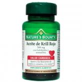 Aceite de Krill rojo 500 mg Nature's Bonuty, 40 cápsulas blandas