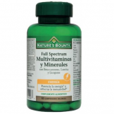 Full Spectrum multivitaminas y minerales Nature's Bounty, 60 comprimidos