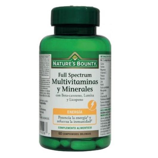 Full Spectrum Multivitamines et Minéraux Nature's Bounty, 60 comprimés