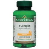 B-Complex, Complexe vitamine B Nature's Bounty, 100 comprimés