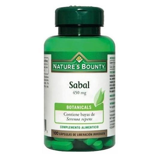 Sabal 450 mg Nature's Bounty, 100 cápsulas