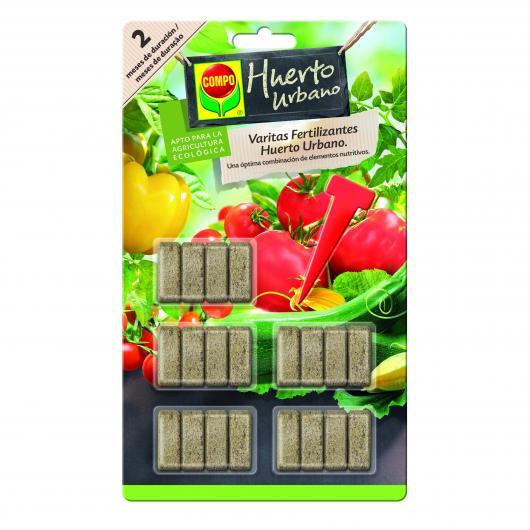 Bâton Fertilizant Potager et Cultures Fruitières Compo, 20 unités