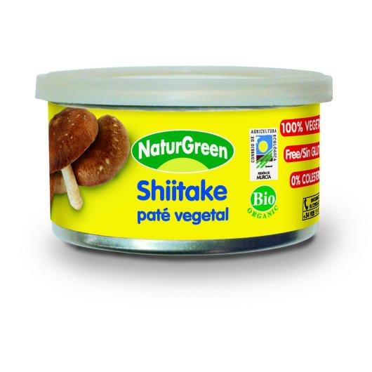Paté Shiitake Naturgreen 125 g