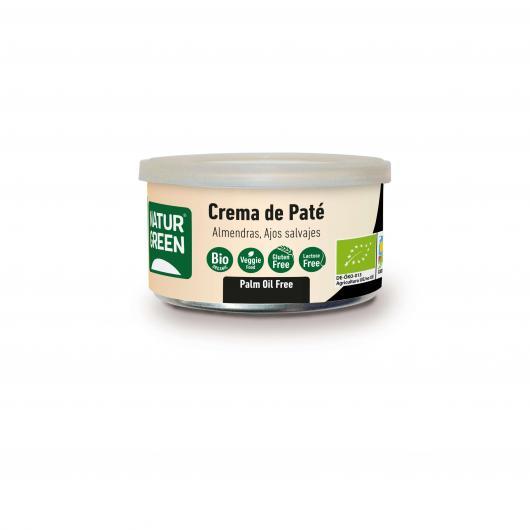 Pâté Végétal Amande et Ail Sauvage Naturgreen 130 g
