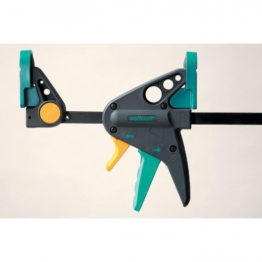 Wolfcraft 3456000 - 1 EHZ 65-150 - morsetto per uso con una sola mano