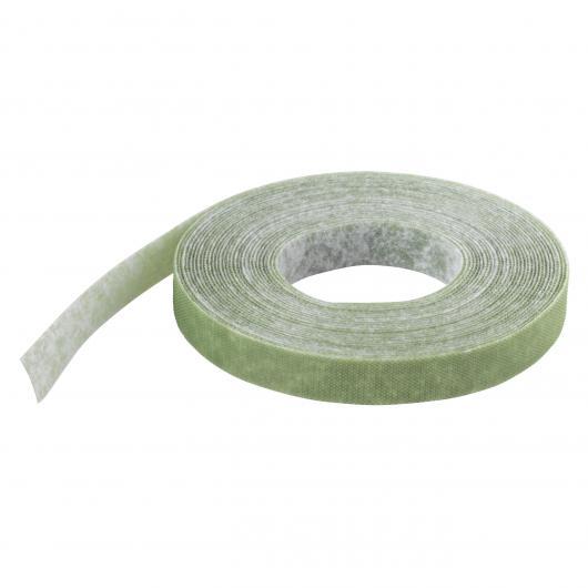 Wolfcraft 3285000 - 1 tiras adherentes de velcro verdes para el jardín 10 x 5 m