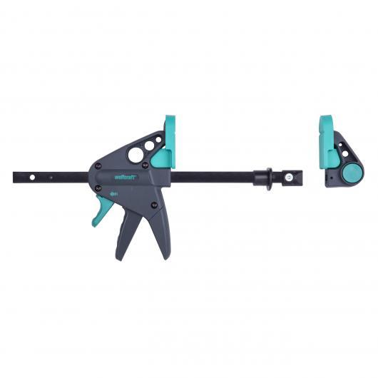 Wolfcraft 3036000 - 1 PRO 65-150-W - valet de serrage et serre-joint