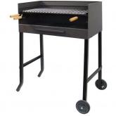 Barbecue con ruote e griglia in acciaio inox Imex el Zorro