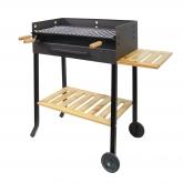 Barbecue completo con vassoio laterale Imex el Zorro
