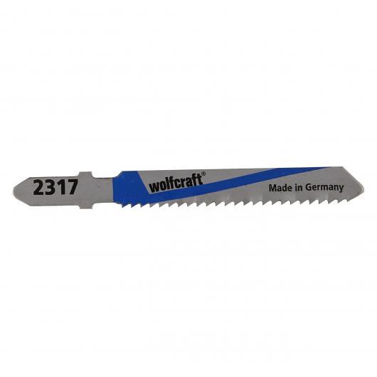 Wolfcraft 2317000 - 2 lame per seghetti alternativi