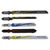Wolfcraft 2688000 - 1 hojas de sierra de calar vástago en T / HCS /