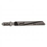 Wolfcraft 8434000 - 2 hojas de sierra de calar vástago en T / Contenido: madera 53 mm