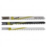 Wolfcraft 2689000 - 1 hojas de sierra de calar vástago en U / HCS /