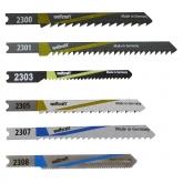 Wolfcraft 2356000 - 10 hojas de sierra de calar vástago en U / Contenido: madera: