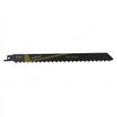 Wolfcraft 2291000 - 2 hojas de sierra de sable CV / vigas de madera, corte de árboles / cortes rápidos y muy bastos 210 mm
