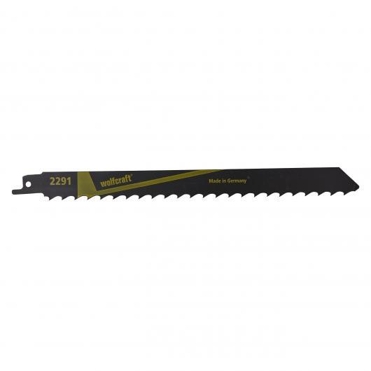 Wolfcraft 2291000 - 2 lame per elettroseghe a gattuccio