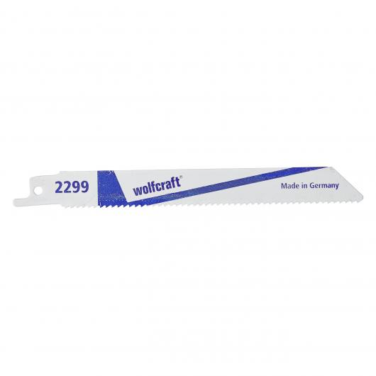 Wolfcraft 2299000 - 2 lames de scie sabre
