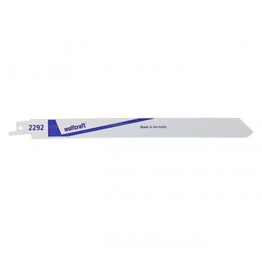 Wolfcraft 2292000 - 2 lames de scie sabre