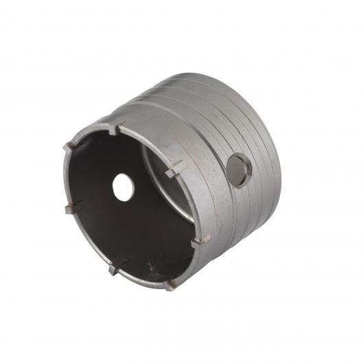 Wolfcraft 7956200 - 1 corona de sondeo, resistente a golpes y choques durante el taladrado Ø 83 mm