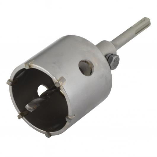 Wolfcraft 8914000 - 1 punta a corona con mandrino SDS-Plus
