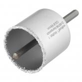 Wolfcraft 8913000 - 1 sega a tazza con riporto in metallo duro con attacco e punta