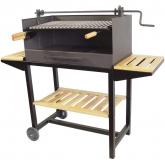 Barbecue completo con vassoi di legno Imex el Zorro