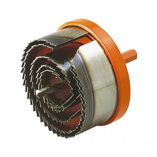 Wolfcraft 2220000 - 1 sierra circular profesional, Ø 28,35,50,68,75 mm