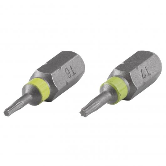 Wolfcraft 2447000 - 7 puntas Solid, Torx 10,15,20,25,27, 30,40 mm