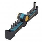 Wolfcraft 1371000 - 1 BitButler, Solid: con portapuntas magnético y 10 puntas
